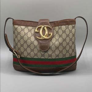 Vintage Gucci Blondie Britt Monogram Bag